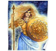 Goddess Athena  Poster