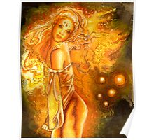 Fire Fairy  Poster