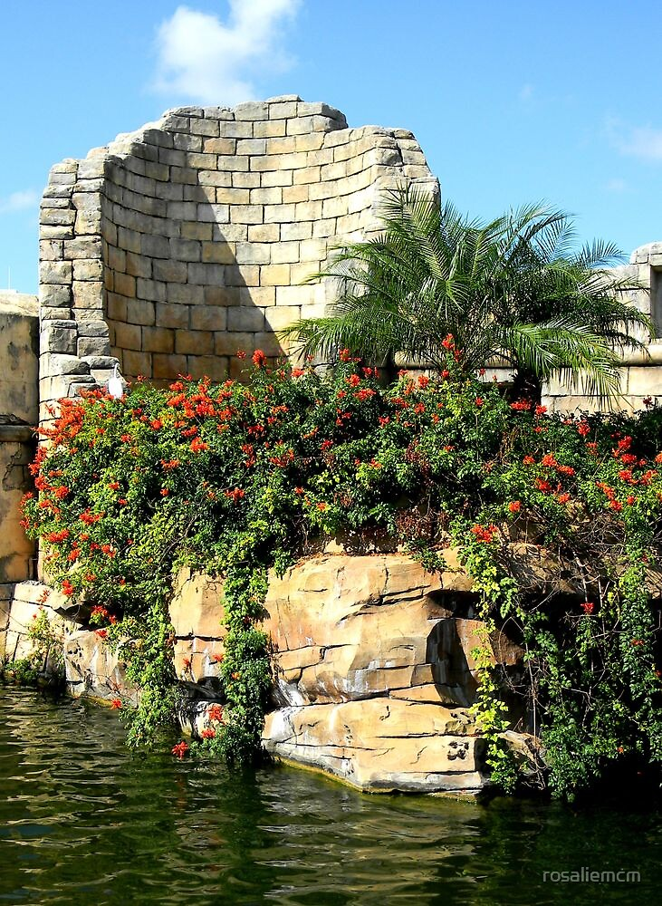 Ruins by rosaliemcm