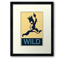 Max is Wild Framed Print