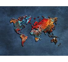 World Map 2020 Photographic Print