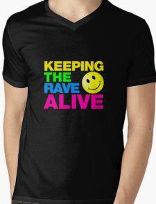 Keeping The Rave Alive Mens V-Neck T-Shirt