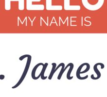 Mrs. James Bay Sticker