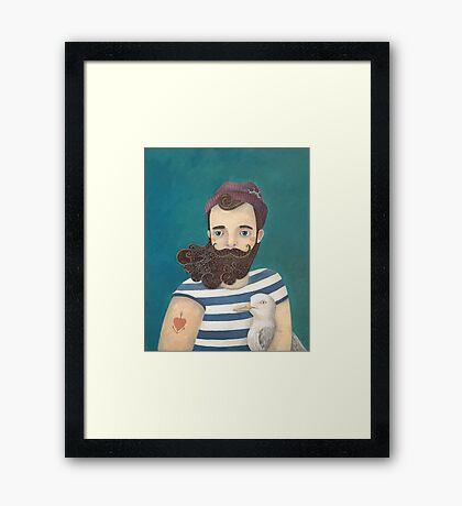 A Sailor Framed Print