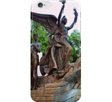 Littlefield Fountain - Texan Landscape Photography iPhone Case/Skin