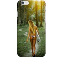 Hot Girl Iphone Case iPhone Case/Skin