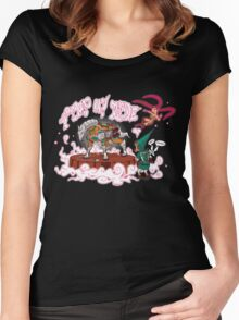 Pimp My Ride's Fountain Women's Fitted Scoop T-Shirt