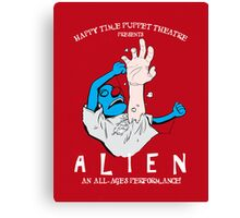 ALIEN: Preschool Edition Canvas Print