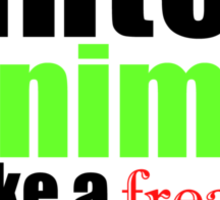 Werewolves, Hunters, Kanimas.. Sticker