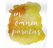 In Omnia Paratus - Ready for Anything Poster