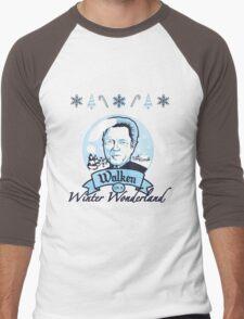 Walken in a Winter Wonderland Men's Baseball ¾ T-Shirt