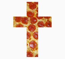 Pizza Cross Unisex T-Shirt