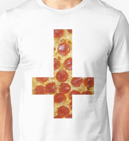 Pizza Cross - Inverted Unisex T-Shirt
