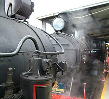 Two Old Boilers by Gary Kelly