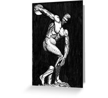 Myron's Discus Thrower Greeting Card