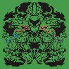 Teenage Mutant Ninja Rorschach by MightyRain