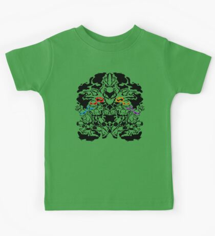 Teenage Mutant Ninja Rorschach Kids Tee