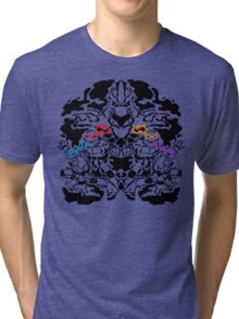 Teenage Mutant Ninja Rorschach Tri-blend T-Shirt