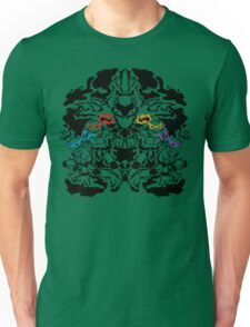 Teenage Mutant Ninja Rorschach Unisex T-Shirt