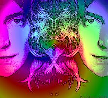Rainbow Robert Plant by Zeppy