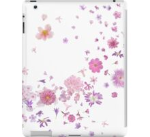 Pink Flora Breeze of Diversity iPad Case/Skin