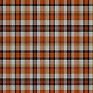 02358 Fairfax County, Virginia District Tartan Fabric Print Iphone Case by Detnecs2013