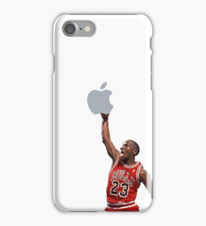 Jordan free throw line dunk iPhone Case/Skin