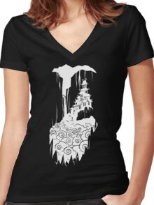 Long Ago in a Distant Land Women's Fitted V-Neck T-Shirt