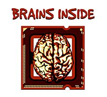 Brains inside Photographic Print