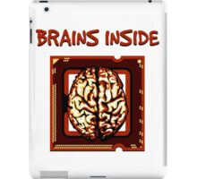 Brains inside iPad Case/Skin