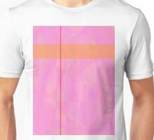 Minimalism Pink Marble Unisex T-Shirt