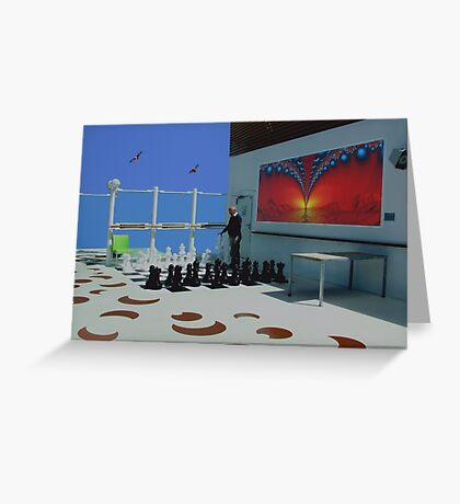 Chess. Greeting Card
