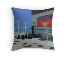 Chess. Throw Pillow