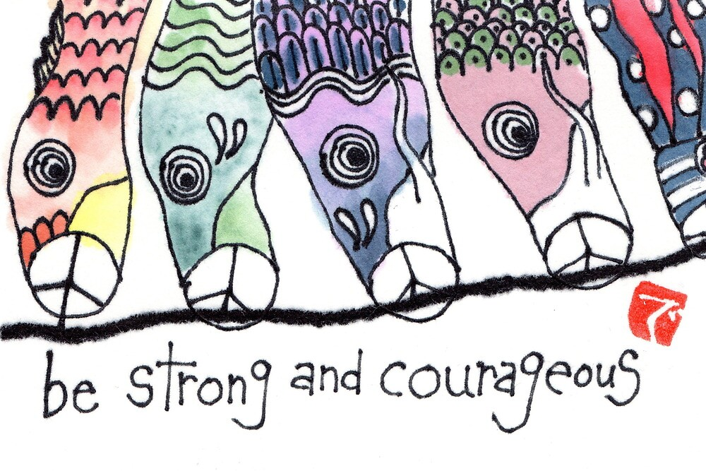 Koinobori: Be Strong and Courageous by dosankodebbie