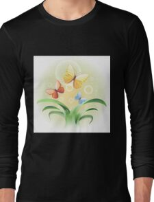 sprouts and butterflies Long Sleeve T-Shirt