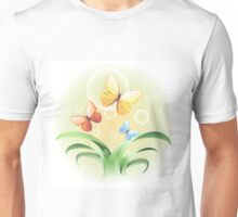 sprouts and butterflies Unisex T-Shirt