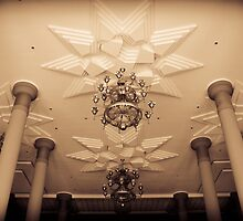 Islamic Center of Samarinda's Ceiling by PutroGraph
