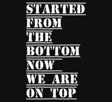 started from the bottom by d1bee