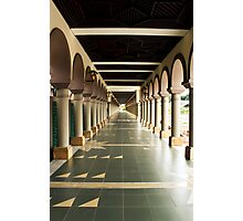 Islamic Center of Samarinda Alleyway Photographic Print