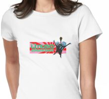 badly translated hellraiser Womens Fitted T-Shirt