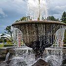 Queens Park Fountain by Deborah Clearwater