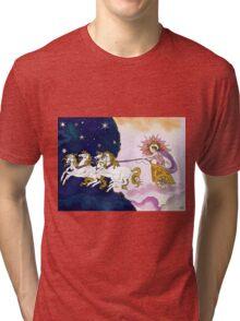 Aurora, Goddess of Dawn Tri-blend T-Shirt