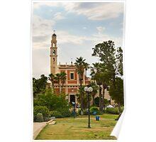 St. Peters church, Jaffa Poster