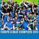 Chelsea Europa League Champions by kelvclothing