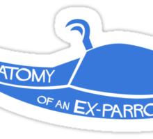 Anatomy of an Ex-Parrot Sticker