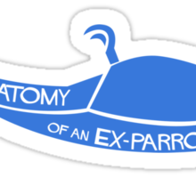 Anatomy of an Ex-Parrot Sticker