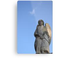 Comforting Angel Metal Print
