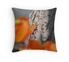 Behind the Beauty Throw Pillow