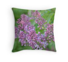 Lilac Dreams Throw Pillow