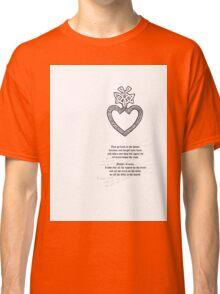 Tattoo Comp |  Mothers Heart Classic T-Shirt